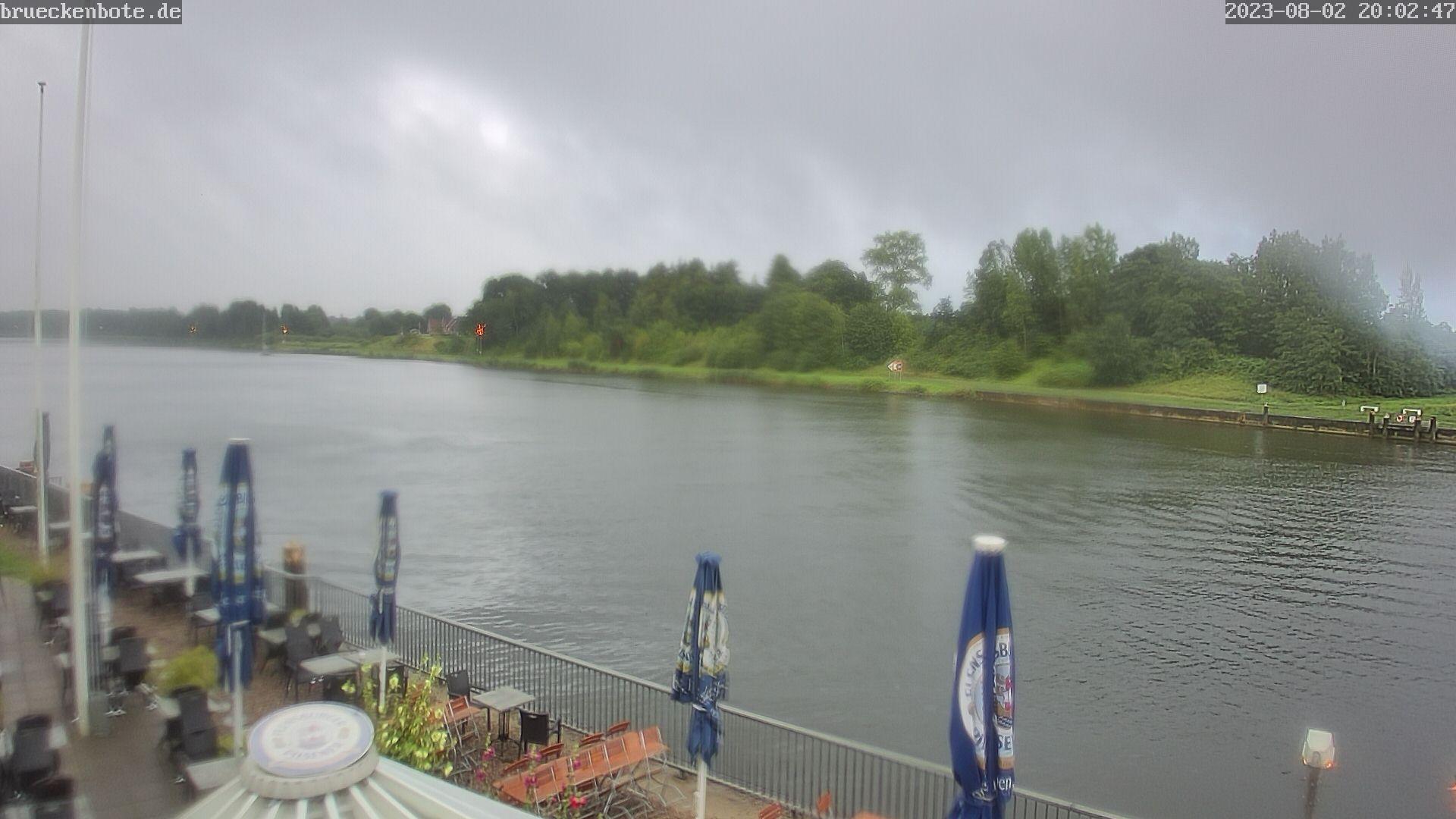 Brückenbote Rendsburg (Eisenbahnhochbrücke)
