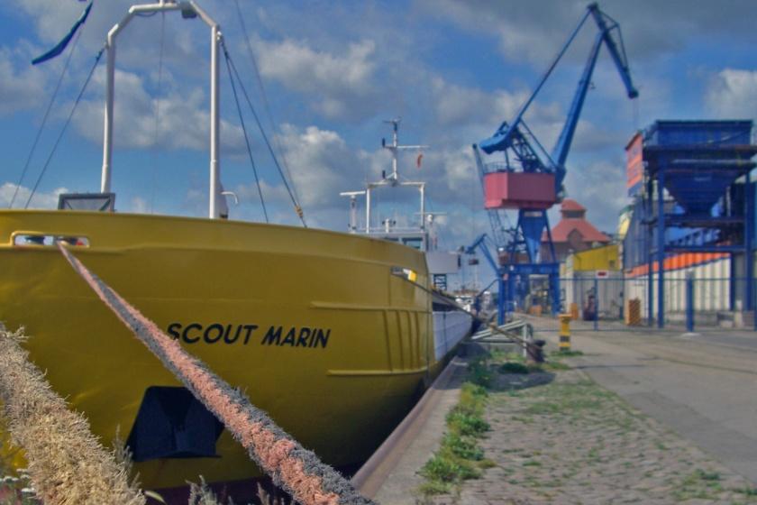 Der Rendsburger Kreishafen