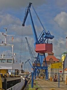 Der Rendsburger Kreishafen. Foto: Stefan Fuhr